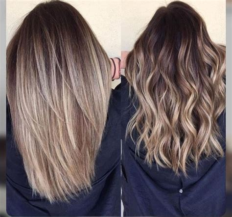 balavage haircolor for medium length blonde hair balayage long hair