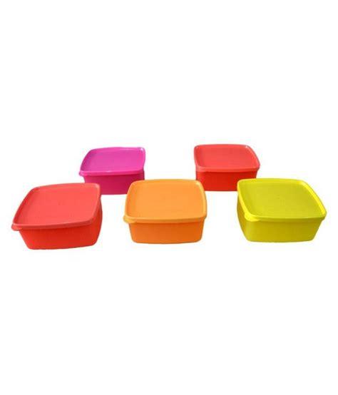 Cool It Tupperware tupperware cool n fresh pet food container set of 5