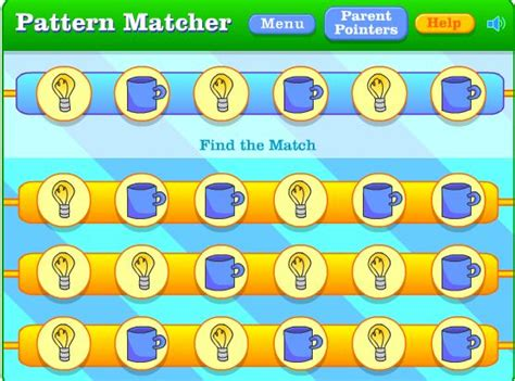 pattern games pbs activity 11 math online games patterns first grade