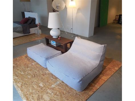 verzelloni divani prezzi poltrona relax e pouff zoe verzelloni a prezzo outlet