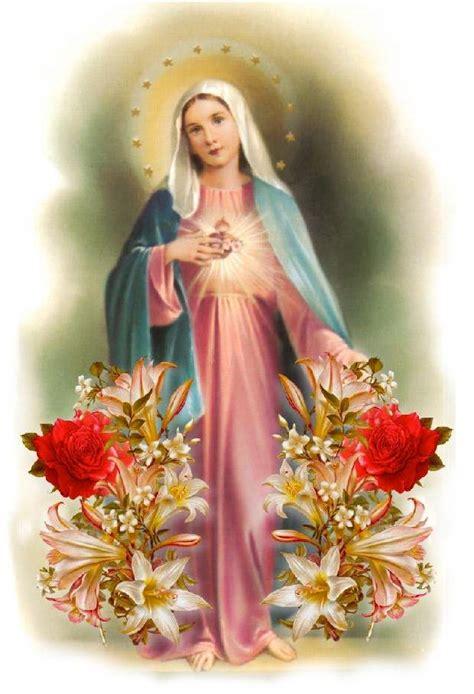 imagenes bellas de la virgen maria rosario por los difuntos misterios dolorosos martes y