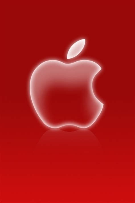 red  white apple iphone wallpapers   pop hd