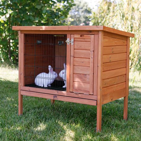 Bunny Hutch Prevue Pet Rabbit Hutch Rabbit Cages Hutches At Hayneedle
