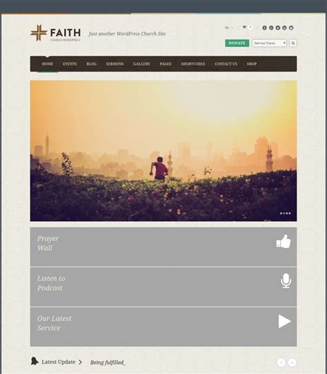 wordpress homepage layout manager 18 best 18 more of the best free premium church