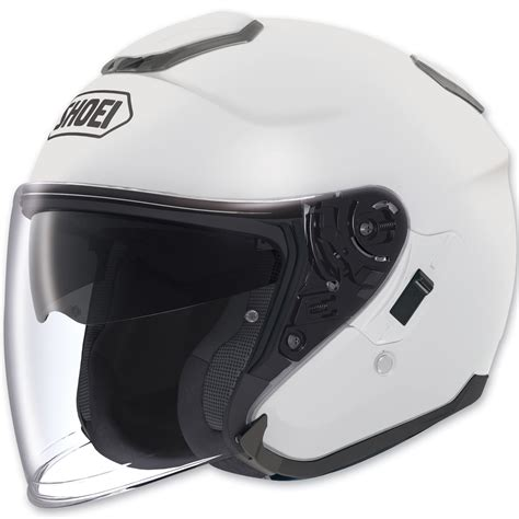 Helmet Shoei J 4 shoei j cruise open white helmet 713 655 j p cycles