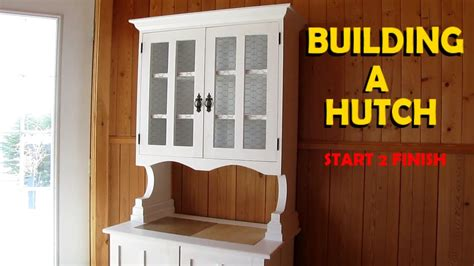 house construction start to finish 6 youtube building a hutch start 2 finish youtube
