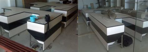 Meja Kantor Minimalis Hpl furniture meja kerja minimalis asli bikinan m interior