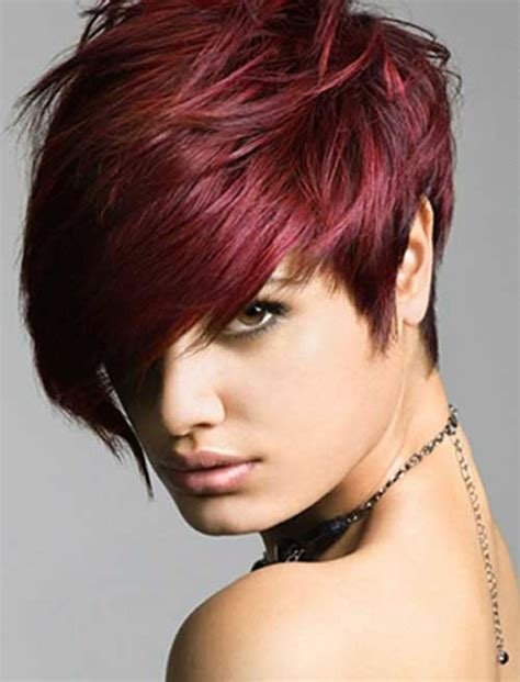 haircuts and color pics red hair color for short hairstyles 27 cool haircut