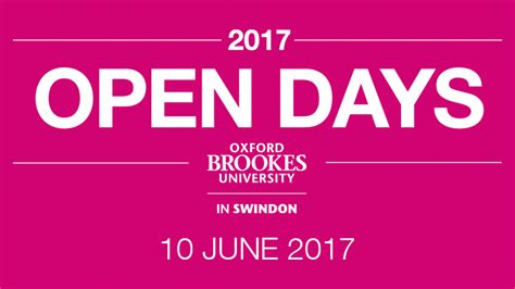 Oxford Mba Open Day 2017 by Open Days Oxford Brookes