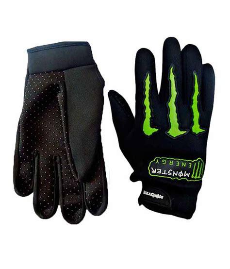 monster motocross gloves monster motorcycle hand gloves black one stop stop buy