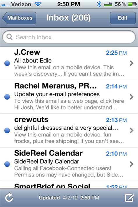 Email Search Iphone 5 Things I About The Iphone