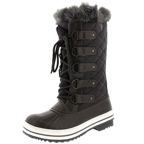 snow boots for womens snow boot winter fur lined snow warm