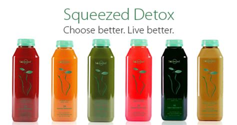 Squeezed Detox by Squeezed Local Juice Cleanse And Cold Pressed