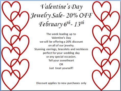 valentines day jewelry sales wedding jewelry sale 20 february 6th 13th