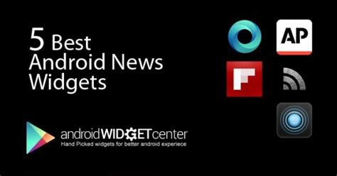 5 best android news widget april 2013