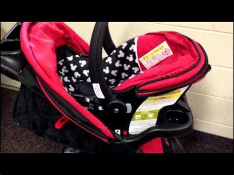 mickey mouse car seat walmart disney baby amble travel system mickey silo