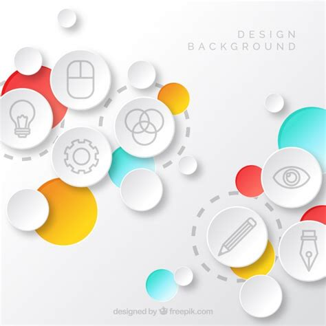background design elements plat design vectors photos and psd files free download