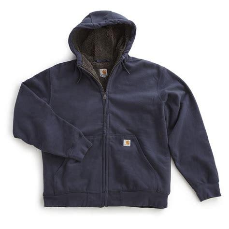 Fleece Sweatshirt carhartt s brushed fleece hooded sweatshirt 594019