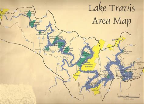 lake travis texas map dbs where to dive in page