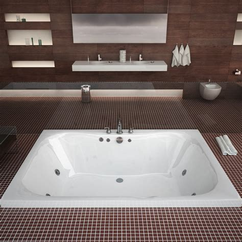 48 inch bathtub atlantis tubs 4860n neptune 48 x 60 x 23 rectangular