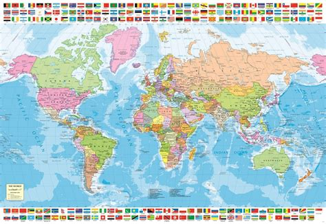 political world map  pc educa jigsaw puzzle puzzle