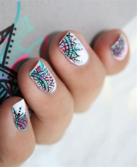 imagenes de uñas decoradas con zapatillas nuevas fotos de u 241 as decoradas con mandalas imperdibles