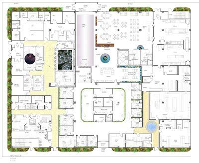 cancer center floor plan senior thesis cancer center focus plans
