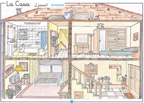 la casa 2 la casa material imprimible lectoescritura m 225 s de 3