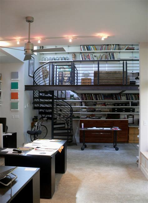 Industrial Home Office by 27 Easy And Practical Industrial Home Office Design Ideas