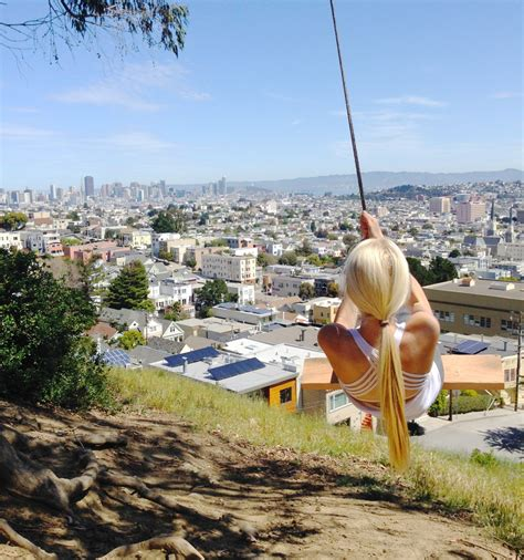 swing san francisco rope swing in san francisco and how to find it to