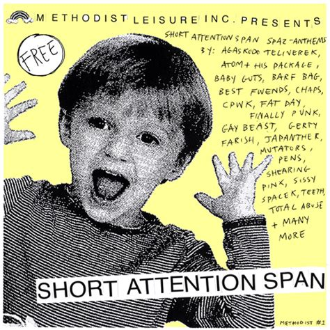 Attention Span Mp3 Download | v a short attention span methodist leisure mp3 goto8o