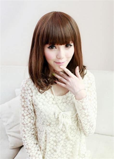 medium haircuts kpop korean medium haircut