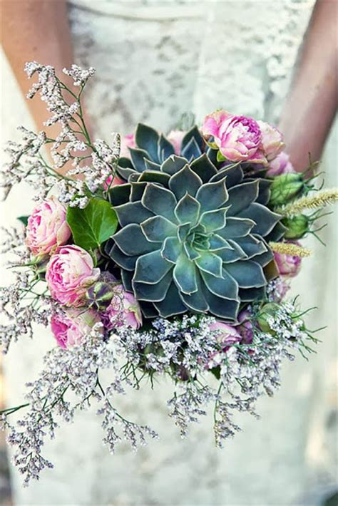 Wedding Bouquet Succulents by Beautiful Bridal 7 Must See Succulent Wedding Bouquets