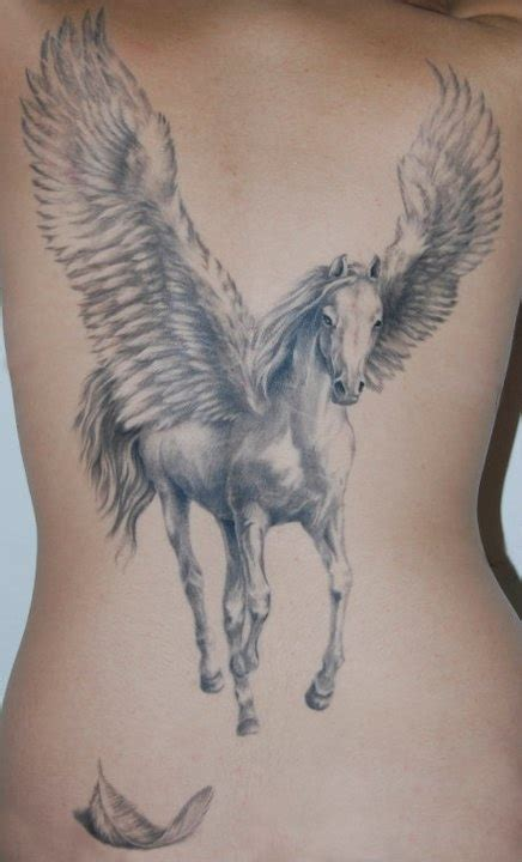 small pegasus tattoo 50 pegasus tattoos