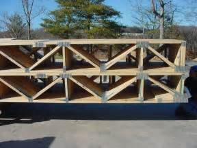 Floor trusses stacked on each other picture from this website