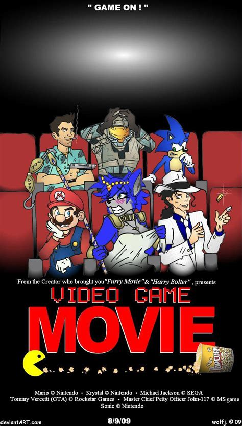 film gane video video game movie by wolfjedisamuel on deviantart
