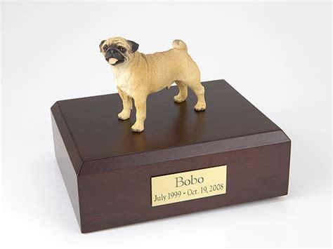 pug urn pug standing figurine urn memorial urns