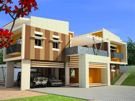 modern home blueprints modern home design in the philippines modern house plans