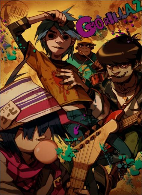 Get Your Gorillaz On by 256 Best Gorillaz Images On Gorillaz Noodle