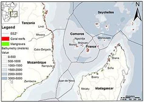channel map northern mozambique channel initiative wwf