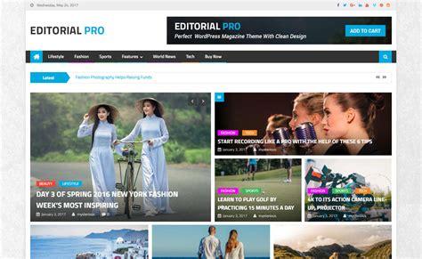 editorial themes download editorial pro premium magazine wordpress theme