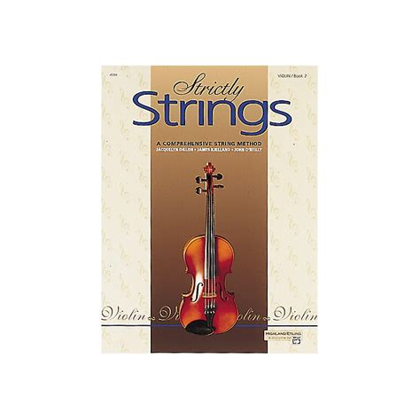 String Book - alfred strictly strings violin book 2 musician s friend