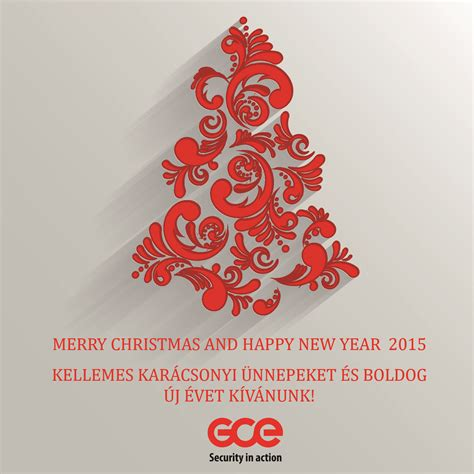 merry christmas  happy  year gce group hungary region