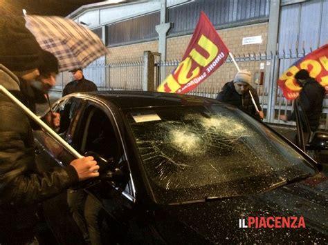 sede gls roma gls gli vandalizzano l auto e cinque giorni dopo la