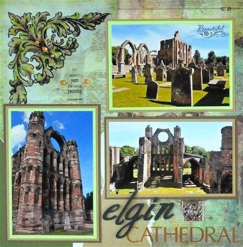 layout scrapbook for architectural drawings cathedrals scotland and layout on pinterest