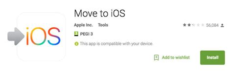 move from android to ios how to transfer from android to iphone transfer contacts photos how to macworld uk