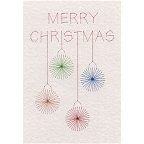 Card Stitch All Cursive Letters Template free merry baubles stitched card