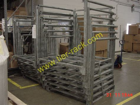 Used Rack by Tier Rack Corporation Offers Used Nesting Racks For Sale