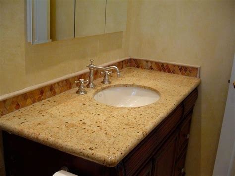 granite countertop bathroom juparano saint cecilia granite bathroom counter top