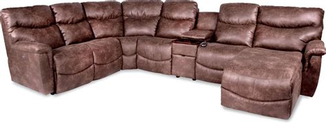 Lazy Boy Dawson Sectional by La Z Boy Six Power Reclining Sectional With Las Chaise Vandrie Home Furnishings